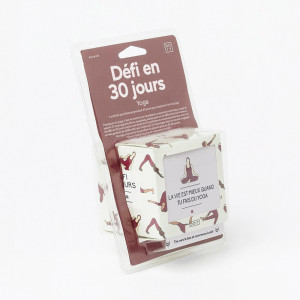 30 Jours de Défis Yoga Packaging