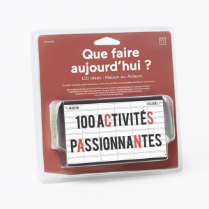 Que Faire Aujourd'hui ? 100 Suggestions Packaging