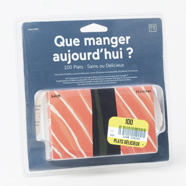 Que Manger Aujourd'hui ? 100 Suggestions Packaging