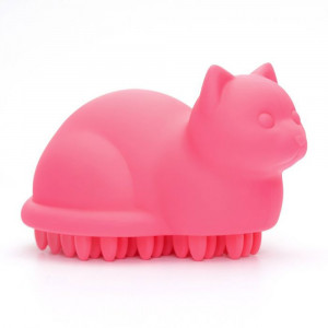 Brosse pour Chat Meow Rose