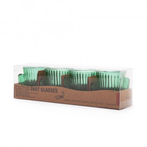 Verres à Shooter Cactus (x4) Packaging