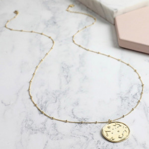 Collier Doré Constellations Plaqué or