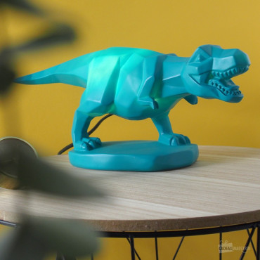 Lampe Dinosaure Turquoise