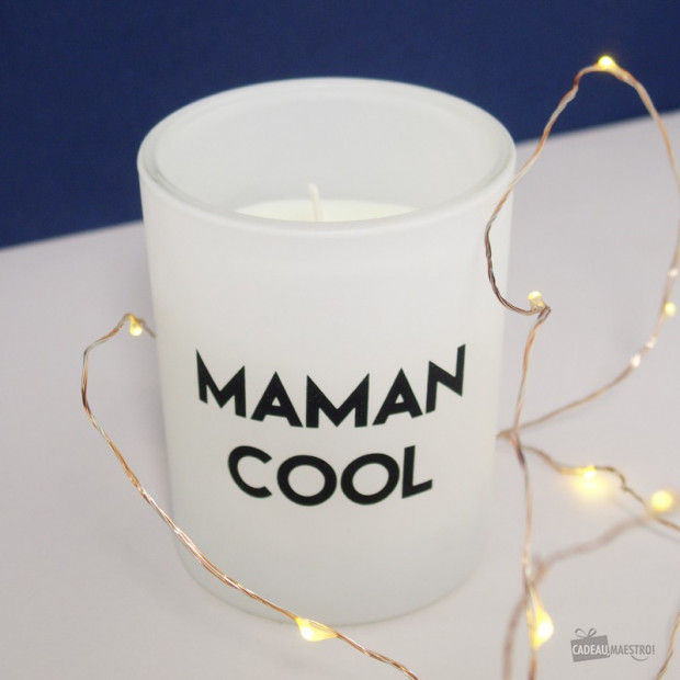 "Bougie Message ""Maman Cool"""