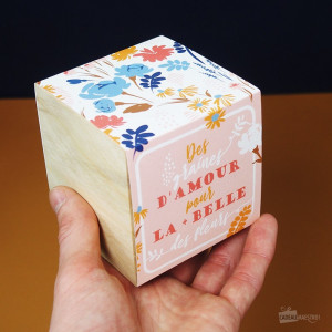 Ecocube Graines d'Amour Maman