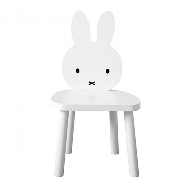 Chaise Lapin Miffy Blanche