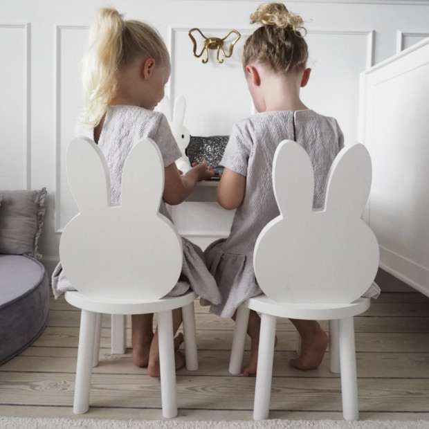 Chaise Lapin Miffy Soeurs