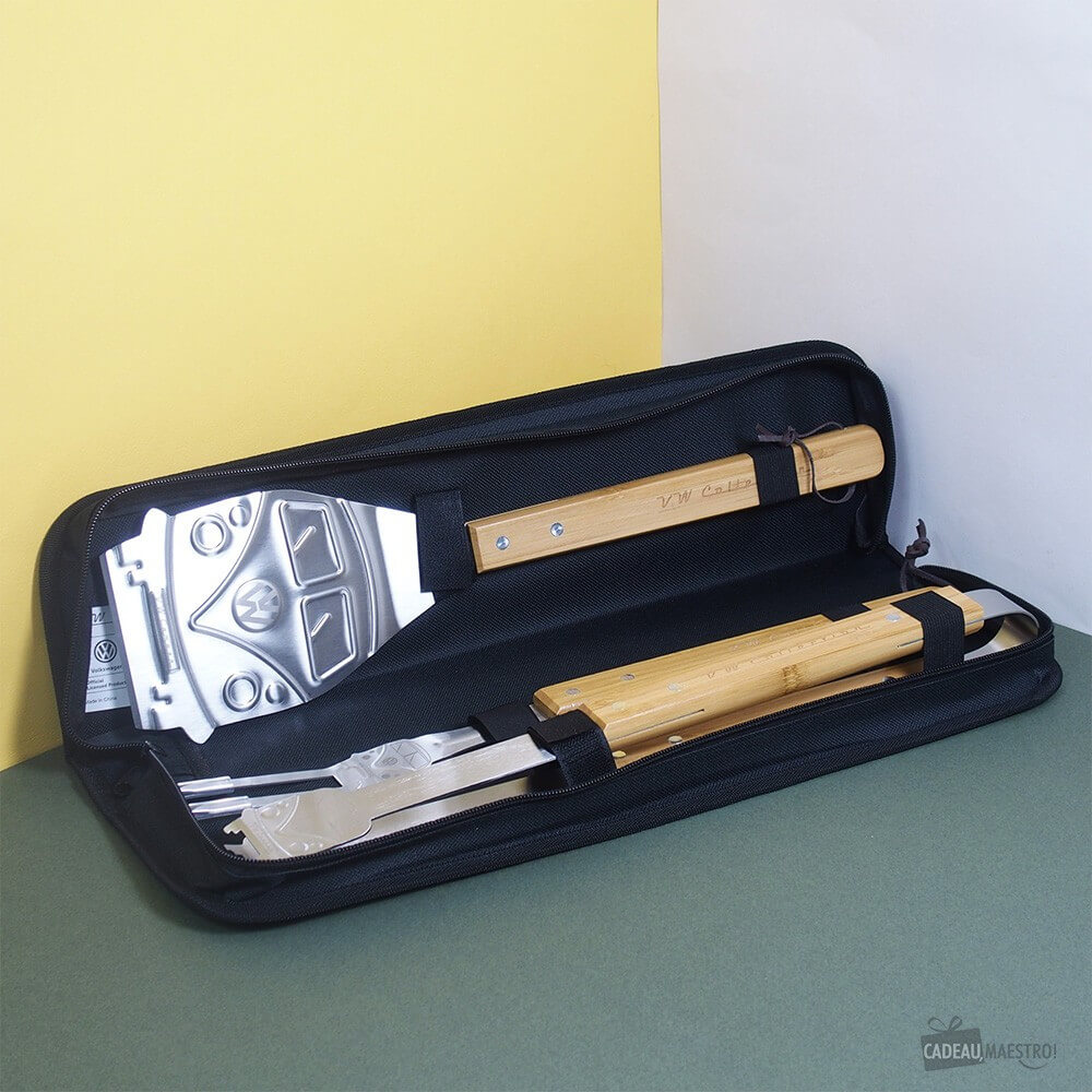 Mallette 3 Outils Barbecue Combi VW