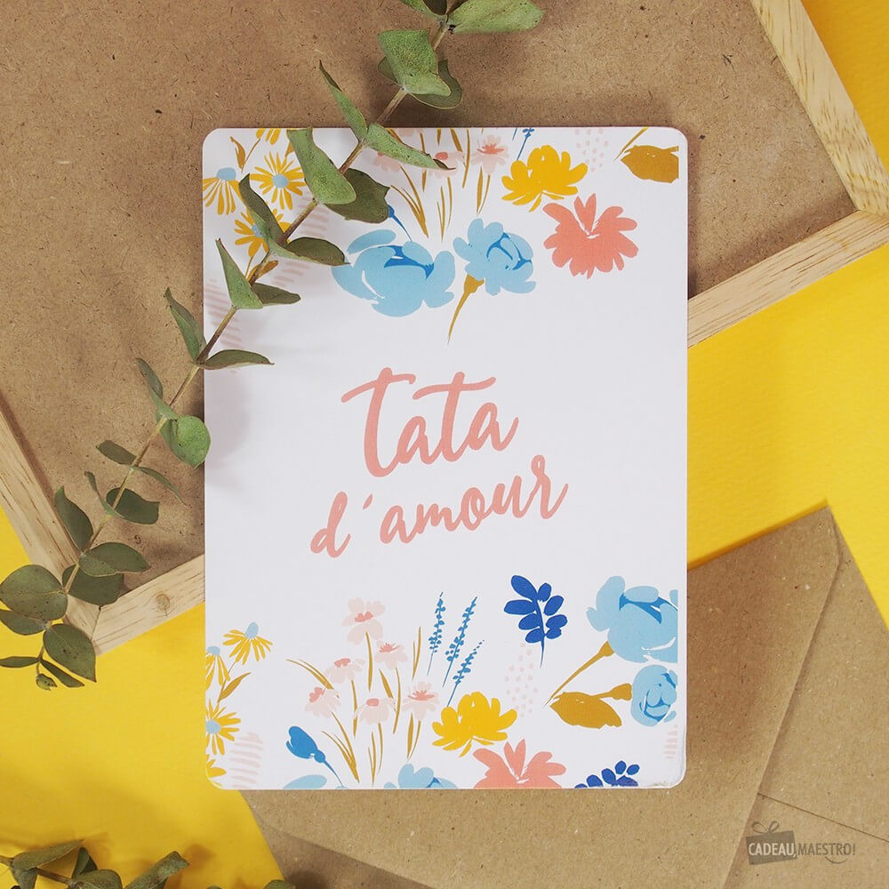 Carte Tata d'Amour