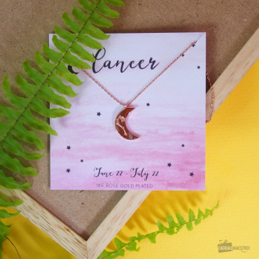 Collier Constellation du Zodiaque Cancer