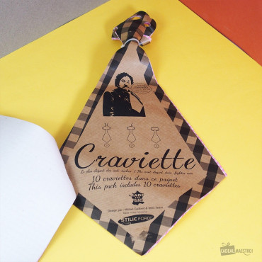 Serviettes de Table Craviette (x10)