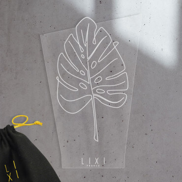 Plaque Lixi Monstera