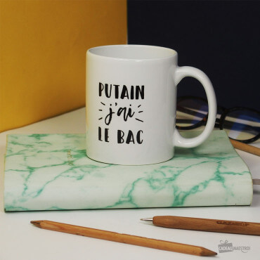 Mug Putain J'ai le BAC
