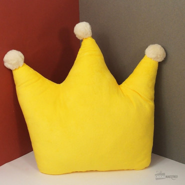 Coussin Couronne Royale