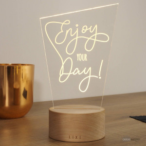 Plaque Lixi Enjoy Your Day