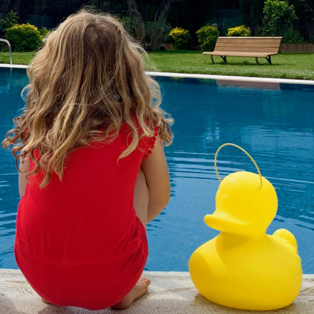 Canard Lumineux taille