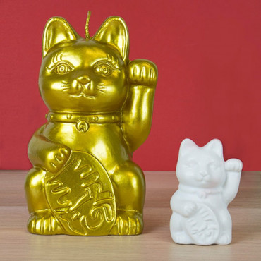 Bougie Lucky Cat Surprise