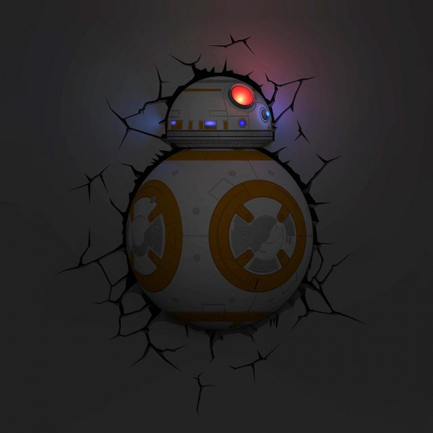Applique Murale Star Wars BB8 3D
