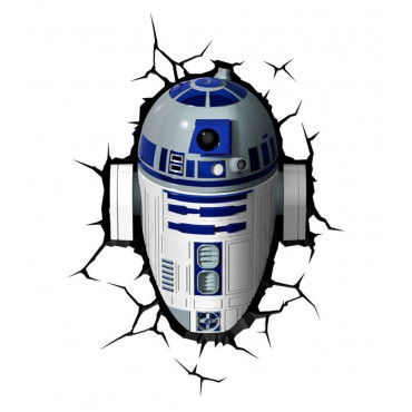 Applique Murale Star Wars R2D2 3D