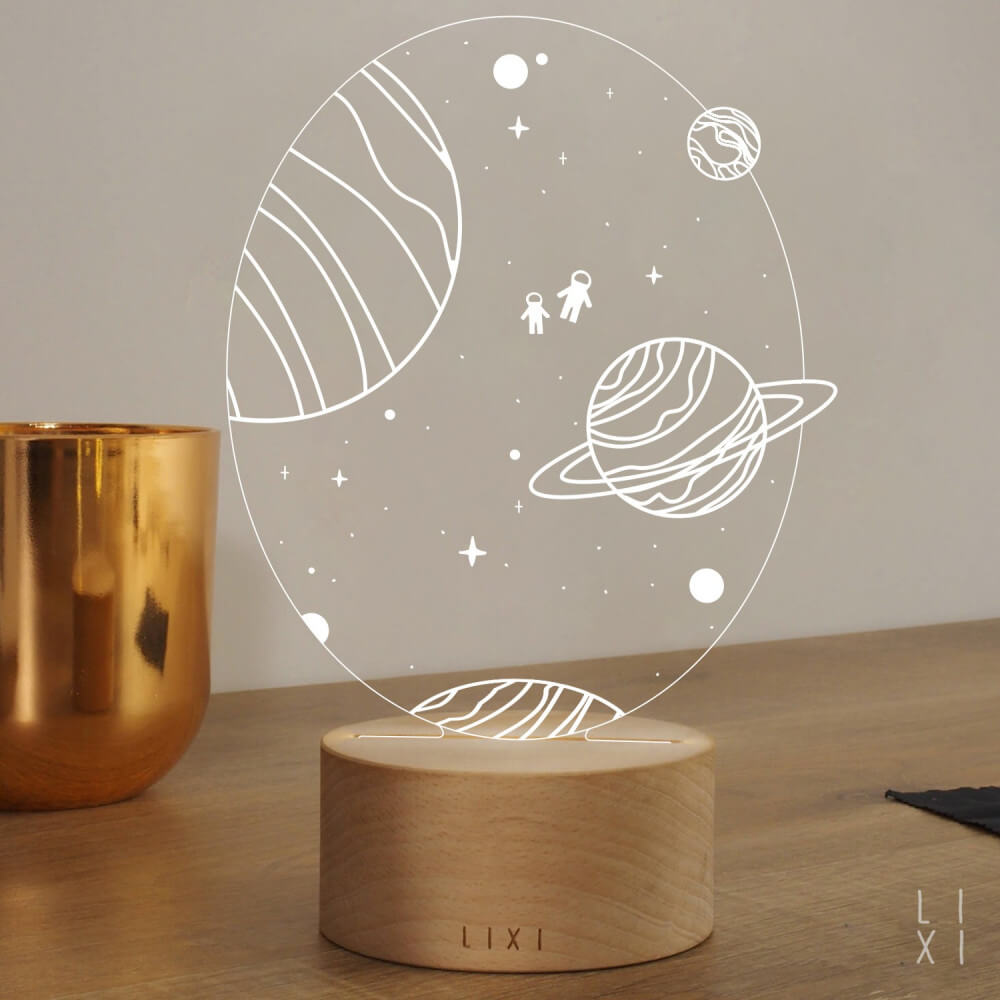 Lampe Lixi Space