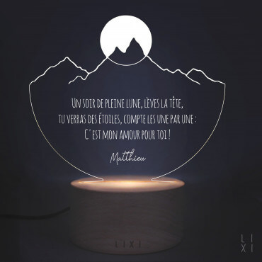 Lampe Lixi Moonlight à Personnaliser