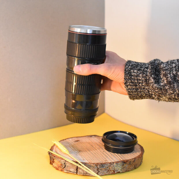 Mug Isotherme Objectif Photo Lentille XL