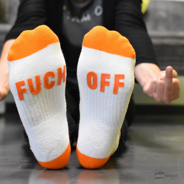 Chaussettes Fuck Off