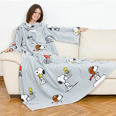Plaid à Manches Snoopy Deluxe