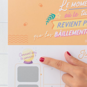 Calendrier à Gratter 2020 Mr Wonderful