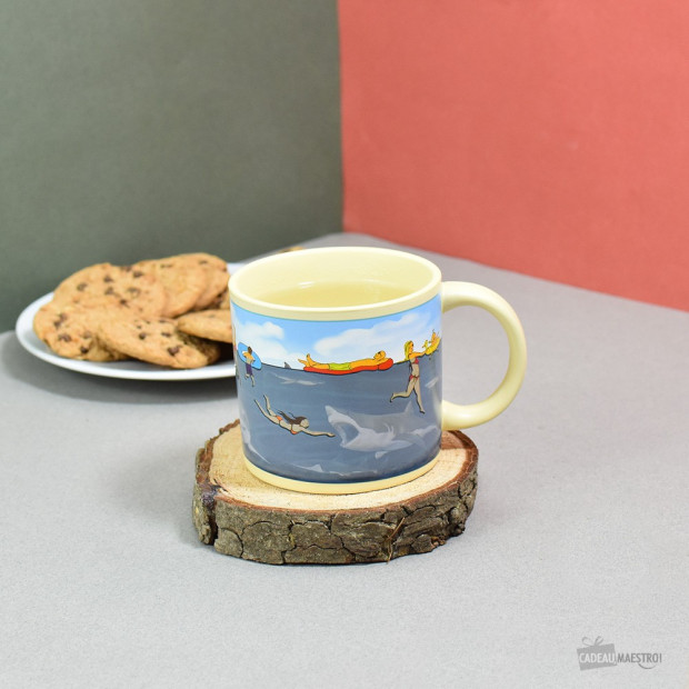 Mug Requin Thermoréactif