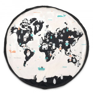Sac Tapis de Jeu Play and Go Carte du Monde