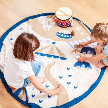 Sac Tapis de Jeu Play and Go Cirque