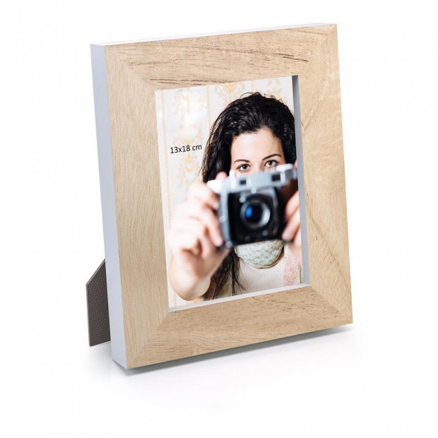 "Cadre Photo en Bois ""Moments"""