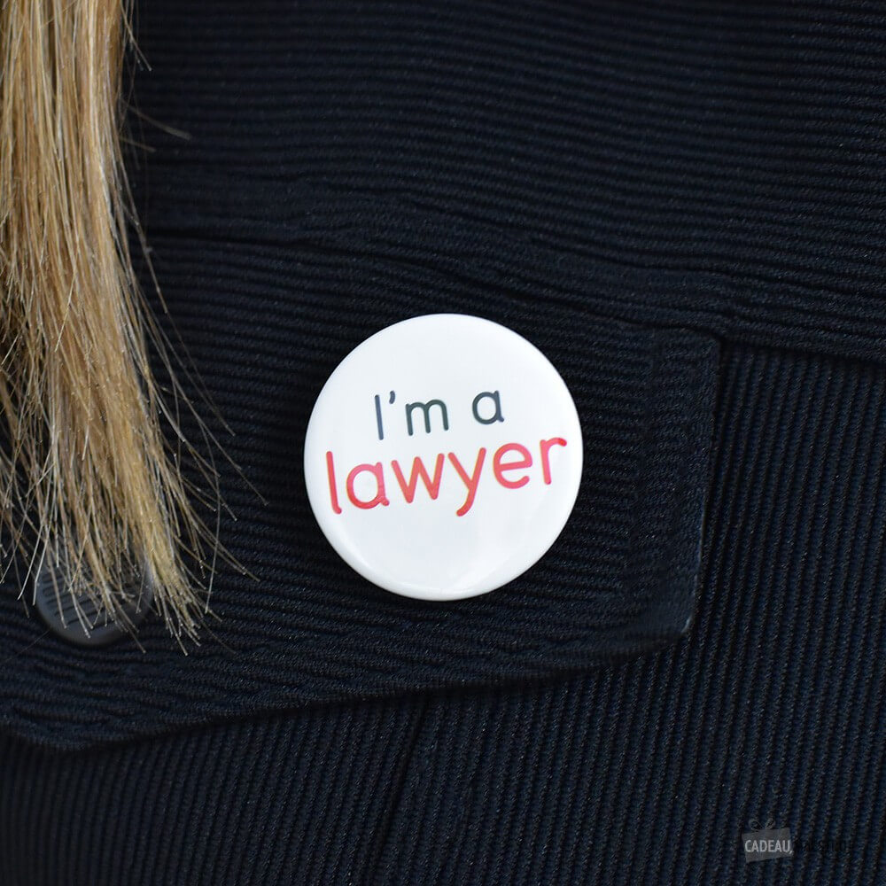 Badge I'm a lawyer