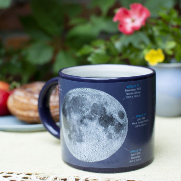 Mug Thermoréactif Lune impressionnant