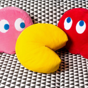 Coussin Pac-Man moelleux