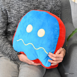 Coussin Pac-Man Blinky doux