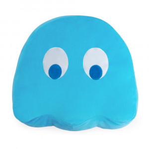 Coussin Pac-Man Inky douillet