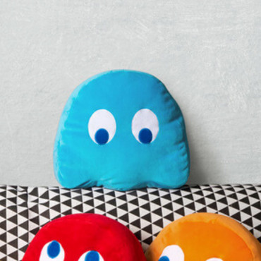 Coussin Pac-Man Inky