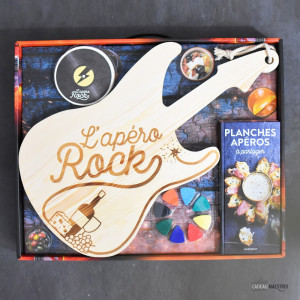 Coffret « Apéro Rock » Packaging