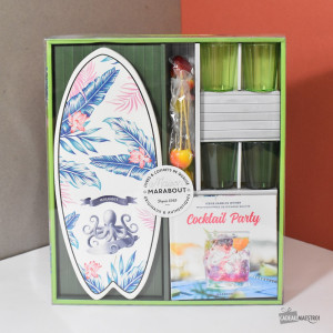 "Coffret ""Apéro Surf"" Packaging"