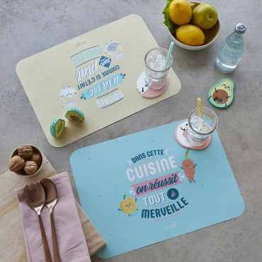 Set de Table Mr Wonderful (x2)