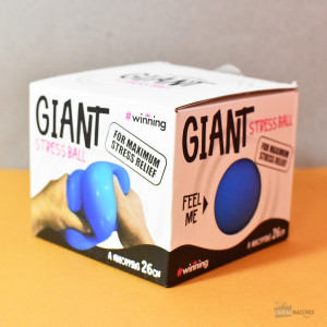Balle Anti-Stress Géante packaging