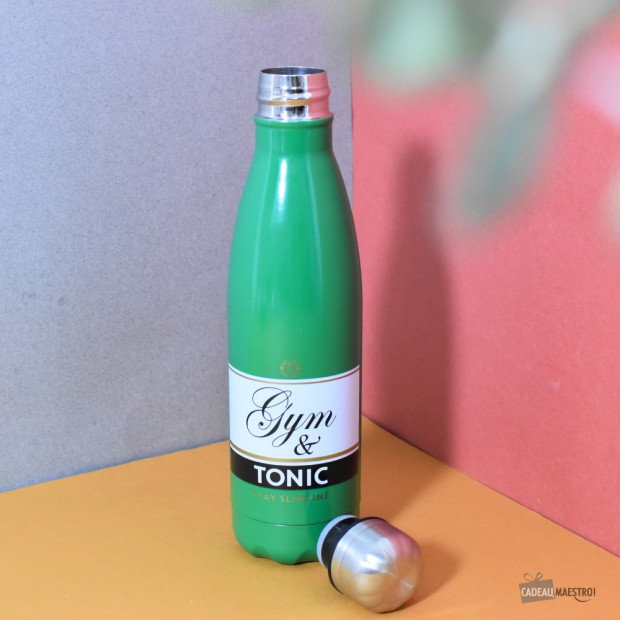 Bouteille Gym & Tonic vert