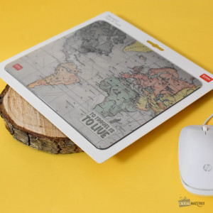 Tapis de Souris Voyage  to travel is to live
