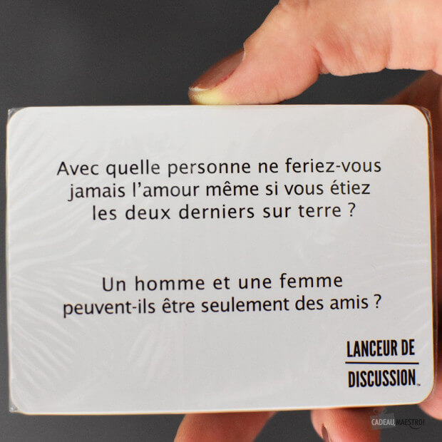 Lanceur de Discussion Party carte