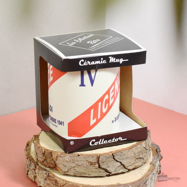 Mug Céramique Licence IV  Packaging