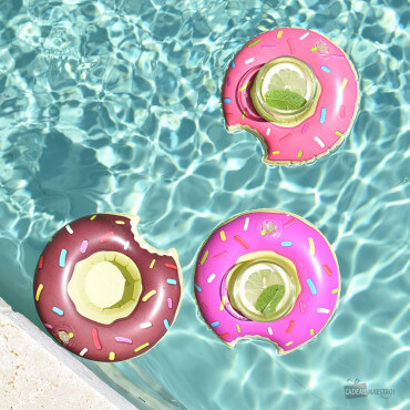 Porte-Boissons Donuts Gonflables (x3)