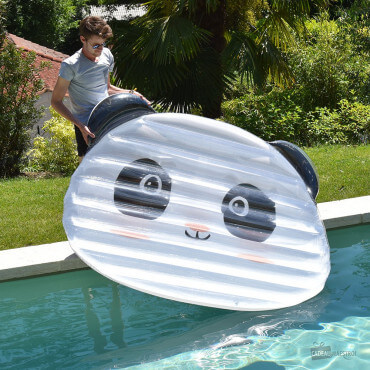 Grand Matelas de Piscine Gonflable Panda