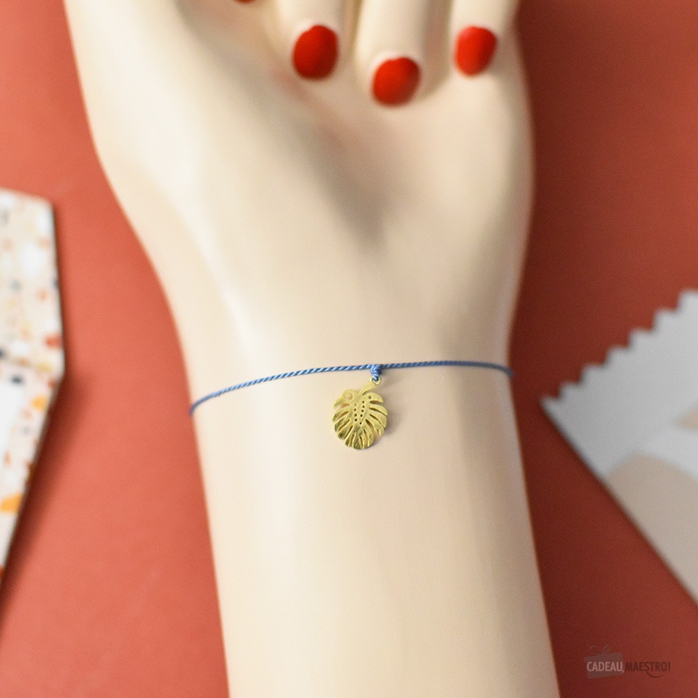Bracelet à Vœux Monstera